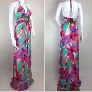 Sky Butterfly Dress